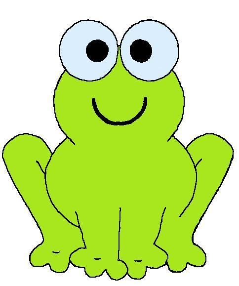 Výsledek obrázku pro žabka kreslena